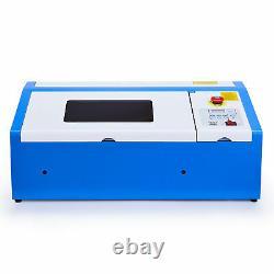 Crenex 40W CO2 Laser Engraver Engraving Cutting Machine 300×200mm new