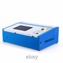 Crenex 40W CO2 Laser Engraver Engraving Machine 30×20cm Cutting Machine new