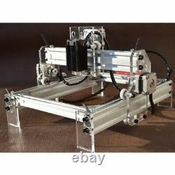 DIY CNC Laser Engraving Cutting Machine Engraver Printer Desktop Cutter