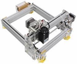 DIY Desktop Mini Laser Cutting/Engraving Machine Marking Printer 500mW Violet