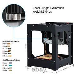 DK-BL DIY 1500mW USB Laser Engraver Printer Cutter Engraving Cutting Machine IS