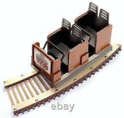 Detailed model of The Kings Island Beast Roller Coaster Laser Engraved & Cut
