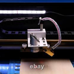 Dot Pointer LCD Cutting Machine 40W CO2 Laser Engraver Cutter Engraving 30x20cm