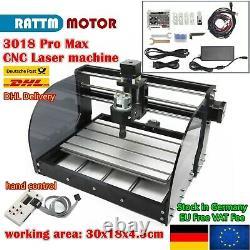 EU3018 Pro Max ER11 DIY CNC Laser Router Wood Engraving cutting + hand control