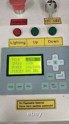 Hpc Laser Cutting Engraving Machine 6090 Bed Size
