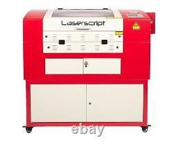 Hpc Laser / Engraver / Lazer Cutting Machine 680x400 Co2 Uk Supply 60watt Lazer
