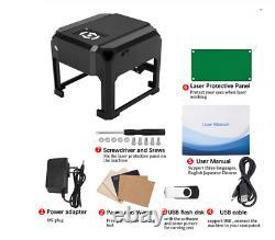 INSMA 3000MW USB Laser Engraving Cutting Machine DIY Logo Printer