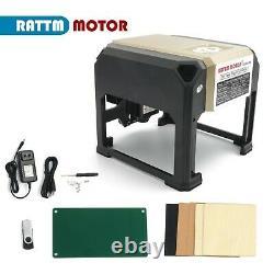 IT3000mW USB Laser Engraver Printer Carver Logo Mark Engraving Cutting Machine