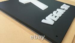 Illuminated LED House Sign Plaque Laser Cut Custom light box 3D Letters and Num