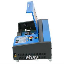 K40 40W CO2 Laser Engraver Machine 220V USB Port Engraving Cutting