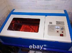 K40 40W CO2 Laser Engraving Cutting Machine Engraver Cutter 300X200MM USB
