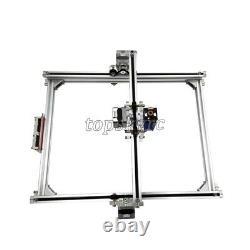 Laser Engraver Machine+5500mw Blue Purple Laser Head Machine Wood Router Cutting
