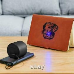 Laser Engraving Cutting Machine Printer Desktop DIY With Tripod & Glasses Set