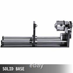 Laser Engraving Cutting Machine Rotary AXIS 60W Co2 Laser Rotary Attachment