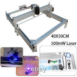 Laser Engraving Machine DIY Desktop 40X50CM 500mW Laser Engraver Cutting Machine