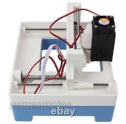 Mini 1000mW Laser Engraving Machine DIY USB Cutting Logo Picture Marking Printer