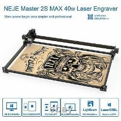 NEJE 2S MAX 40W CNC laser engraving cutting machine laser cutter engraver UKSHIP