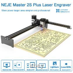 NEJE 7/10/20/30With40W Powerful Laser Engraving cutting Machine Engraver Cutter UK