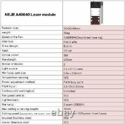 NEJE MASTER 2S MAX 40W laser engraving cutting machine cutter engraver DIY art