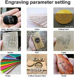 NEJE Master-2s Plus 30 W Laser Engraver Cutting Machine Professional Engraving