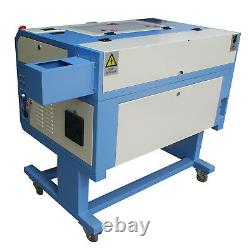NEW! 60W Laser Tube CO2 USB LASER ENGRAVING CUTTING MACHINE with Red dot