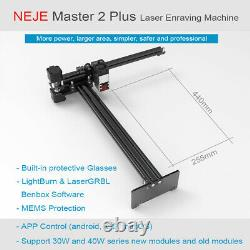 NEW NEJE Master 2S Plus 30W CNC Laser Engraver Cutting Machine cutter 32bit MCU