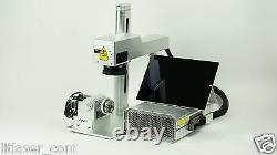 NEW PORTABLE 20Watt LASER MARKING/ ENGRAVING/ CUTTING SYSTEM With PC & ROTARY