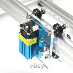 NO VAT 500MW 30X38cm A3 Stroke DIY Laser Engraving Machine Printer Carving Cut