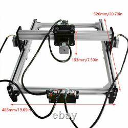 New USB Laser Engraver Cutter Metal Marking Wood Cutting Machine Support VG-L3