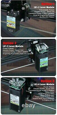 ORTUR 2021 Laser Master ENGRAVING CUTTING MACHINE 7W /15W /20W Large Area 32 Bit