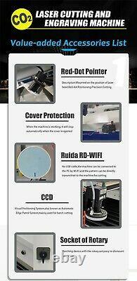 RECI 130W W4 CO2 Laser Cutting Engraving Machine Laser Cutter Engraver 900600mm