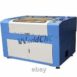 Reci W4 130W Co2 Laser Engraving Engraver & Cutting Cutter Machine 900x600mm USB