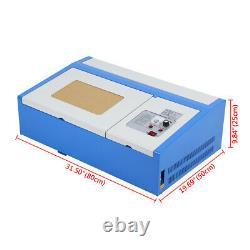 Ridgeyard 40W CO2 Laser Engraver Cutter Engraving Machine Cutting 300x200mm CE