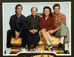 Seinfeld Cast 11x14 Framed Photo Laser Engraved Signature Cut Logo 25x28