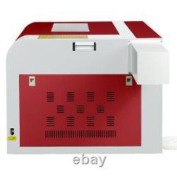 USB 220V 60W CO2 Laser Engraver Cutter Wood Cutting Engraving Machine 600x400mm
