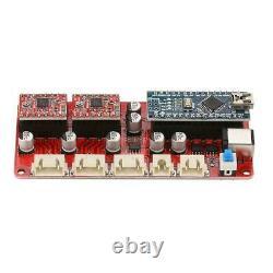 USB CNC Laser Engraver Cutter Metal Marking Wood Cutting Machine Support VG-L3