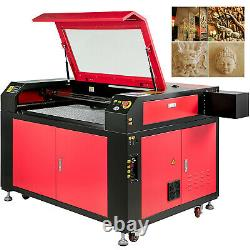 Upgraded 100W CO2 Laser Engraving Cutting Machine 900x600mm USB Engraver Cutter