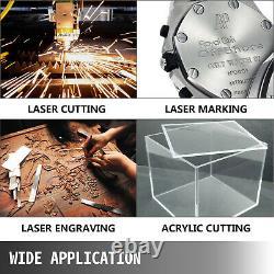 VEVOR 100W 1430mm CO2 Laser Tube for Laser Engraving Cutting Marking Machine