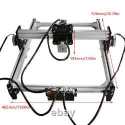 VG-L3 DIY Laser Engraving Cutting Machine Printer Kit Desktop 110-240V 500mW