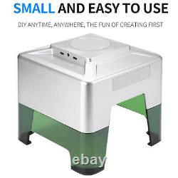 Wireless CNC Laser Engraving Cutting Machine 3W Mini Automatic DIY Engraver APP
