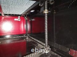 100w Co2 7050 Gravure Au Laser Machine De Découpage / Acrylique Cutter 700500mm Graveuse
