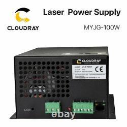 100w Co2 Laser Power Supply Psu Pour La Machine De Découpe De Tubes Laser Reci W2
