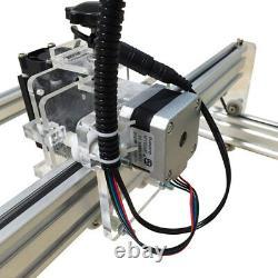 10w Usb Graveur De Laser Cnc Marqueur De Métal Machine De Coupe De Bois 50x35cm Kit Bricolage