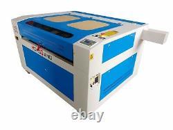 130w Hq1290 Co2 Laser Gravure Machine/graveur Cutter/acrylique Caoutchouc