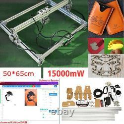 15000mw Laser Gravure Machine Coupe Graveur Bureau Cnc Carver Diy