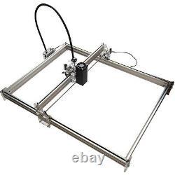 15w Cnc Usb Gravure Laser Métal Marquage Machine À Découper Le Bois Coupe 100x100cm Kit De Bricolage