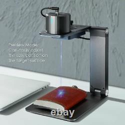 1600mw Usb Gravure Laser Machine De Coupe Bricolage Imprimante De Logo Cnc Graveur Bureau