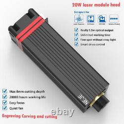 20w Tête De Module Laser Kit Pour Machine De Gravure Laser Avec Panneau D'essai Pwm