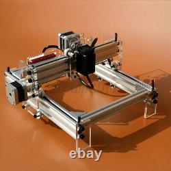 20x17cm 500mw Mini Electric Laser Cutting Gravure Machine Printer Kit Desktop