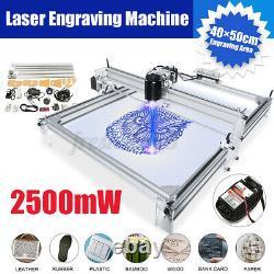 2500mw 4050cm Zone Mini Laser Gravure Machine D'impression Kit D'imprimante Z